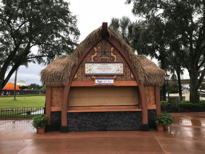 EpcotInternational Food & Wine Festival Booths Now Appearing 1