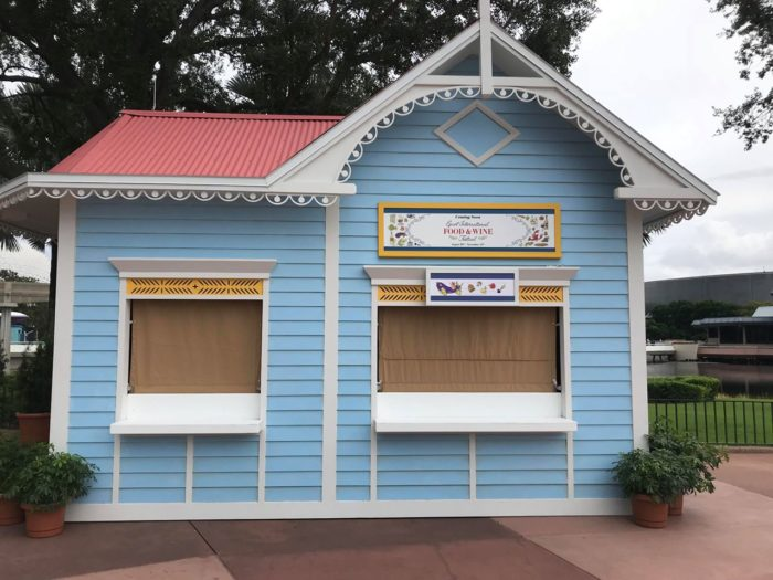 EpcotInternational Food & Wine Festival Booths Now Appearing 3
