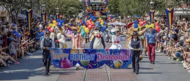 Disneyland Resort Celebrates 63rd Anniversary