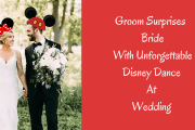 Video: Groom Surprises His Bride With Disney Dance At Their Wedding