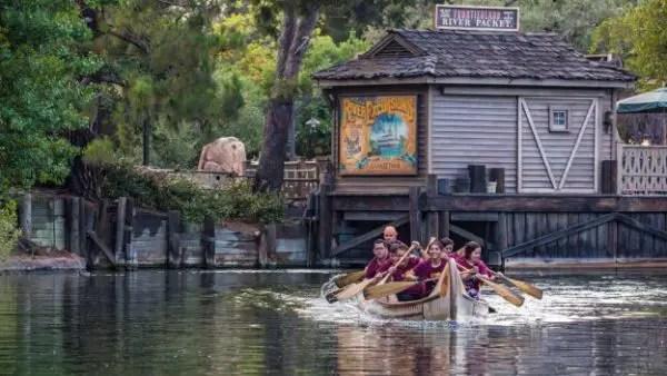 Cast Members Take Part In Annual Disneyland Resort Canoe Race 1