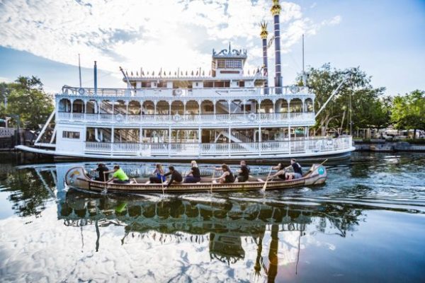 Cast Members Take Part In Annual Disneyland Resort Canoe Race 2