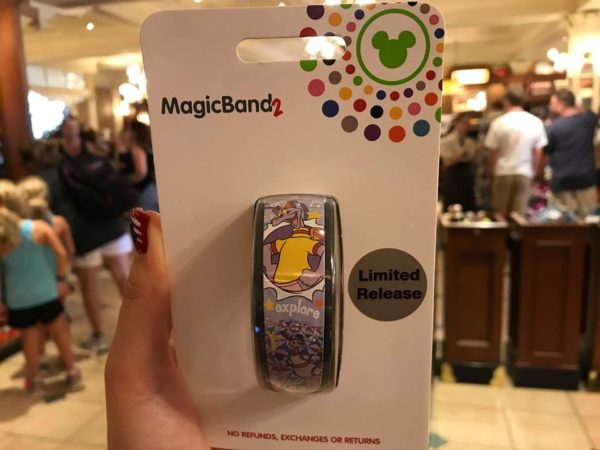 Limited Release Figment MagicBand
