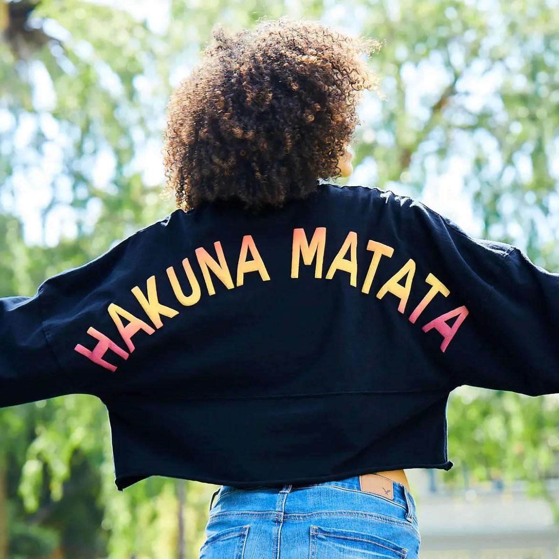 Hakuna Matata Spirit Jersey From shopDisney Means No Style Worries