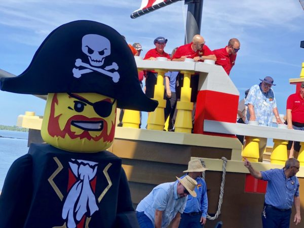 Veteran Military Employees Sail Newly Restored Pirate Ship Back To Legoland 3