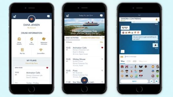 Disney Cruise Line Onboard Mobile App