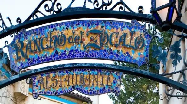 Rancho Del Zocalo Restaurante Dining Restaurants Disneyland Park Disneyland Resort