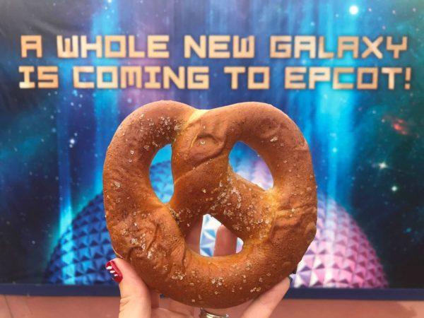 Delicious Salted Caramel Pretzels Can Be Found Near Test Track At Epcot 1