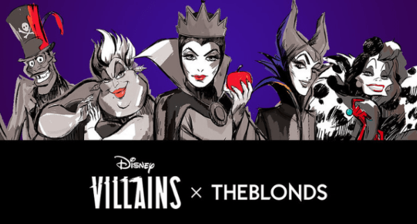 THE BLONDS present 'Disney Villains,'