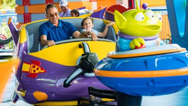 VIDEO: Tim Allen Spends Time At Toy Story Land 2