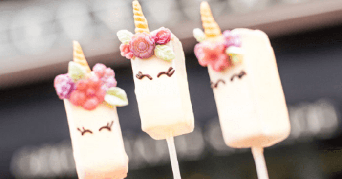 Unicorn Ganache Pops