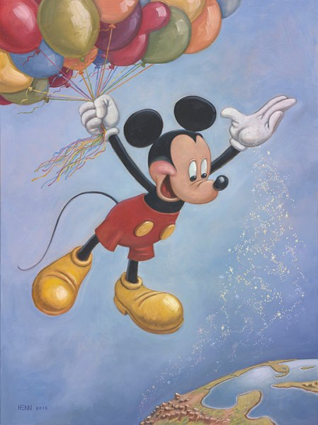 Mickey Mouse's 90th Birthday Portrait