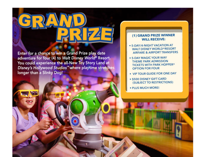 Win A Toy Story Land Vacation With shopDisney Play Big Sweepstakes 1