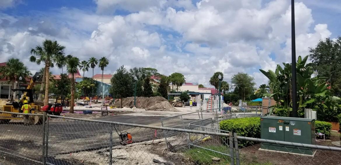 Construction Update at Disney's Caribbean Beach Resort