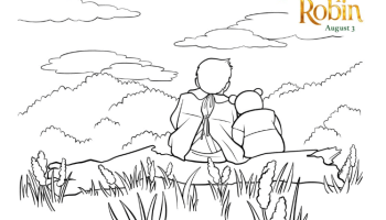 disneys christopher robin coloring pages