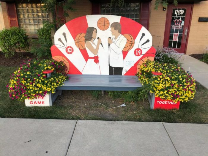 Disney Themed Benches in Tinley Park, Illinois 4