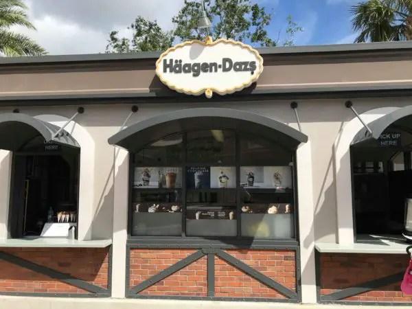 Two New Haagen-Dazs Milkshake Flavors At Disney Springs 3