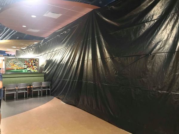 The End Zone Food Court Refurbishment Continues at Disney's All Star Sports Resort 1