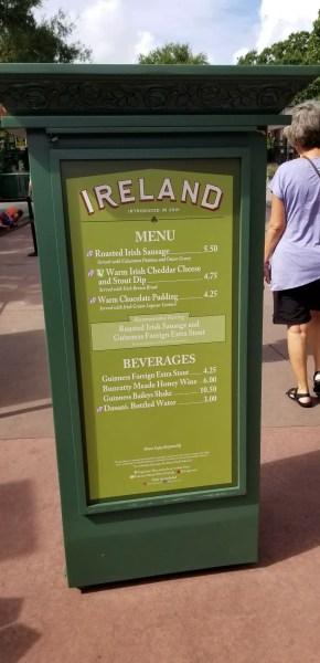 Ireland Food Booth