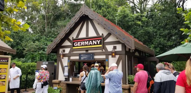 Germany Food Booth