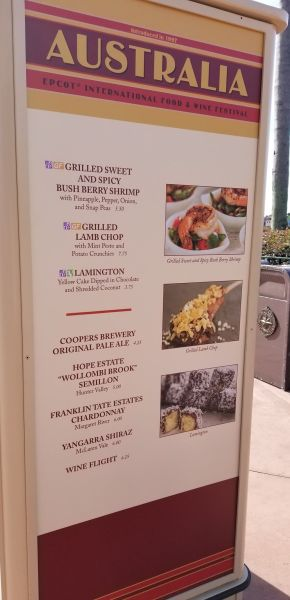 Australia Food Booth