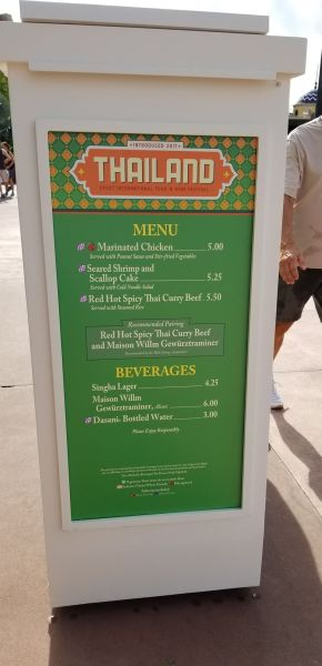 Thailand Food Booth