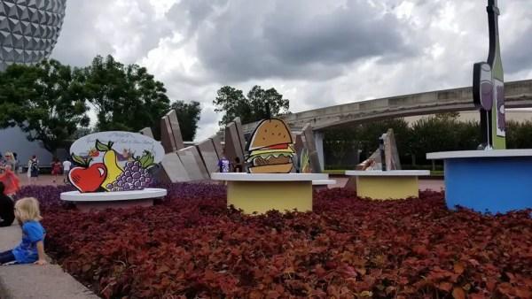 2018 Epcot International Food & Wine Festival Signage Is Up 6