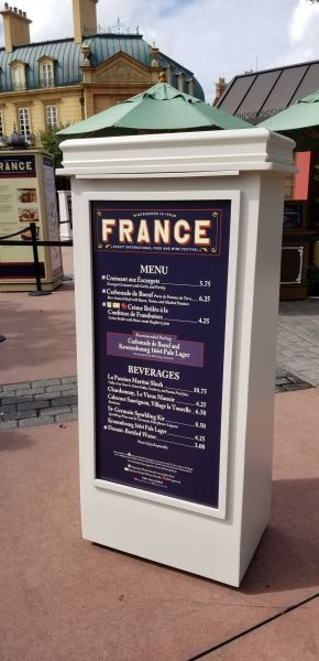 France Food Booth