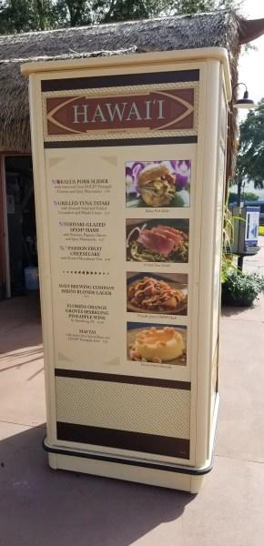 Hawaii Food Booth
