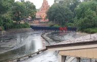 Rivers of America Drained as Part of Liberty Square Riverboat Refurbishment