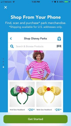 You Can Now Shop Right From Your My Disney Experience App 1
