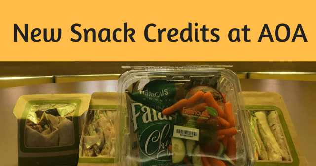 Meals Turned Snack Credits at Disney's Art of Animation Resort 1