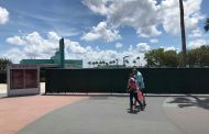 Construction Taking Place at Front Entrance Area of Hollywood Studios