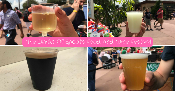 It's All About The Drinks At Epcot's International Food And Wine Festival 1