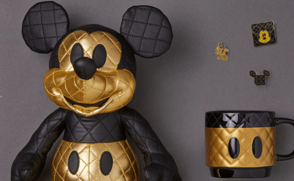 Golden Glam Mickey Memories Collection