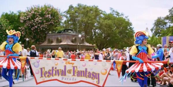 Festival of Fantasy Parade Moves