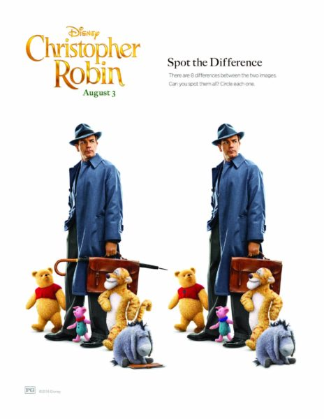 "Disney's ""Christopher Robin"" Coloring Pages 12"