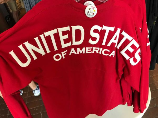 It's Stars and Stripes Forever With The Disney USA Spirit Jersey 1