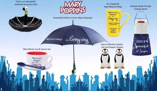Mary Poppins Merchandise