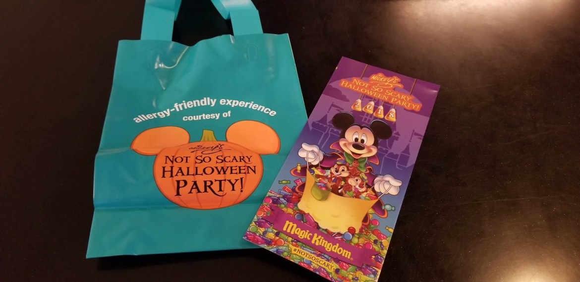 Guide to Allergy-Friendly Options at Mickey's Not Scary Halloween Party