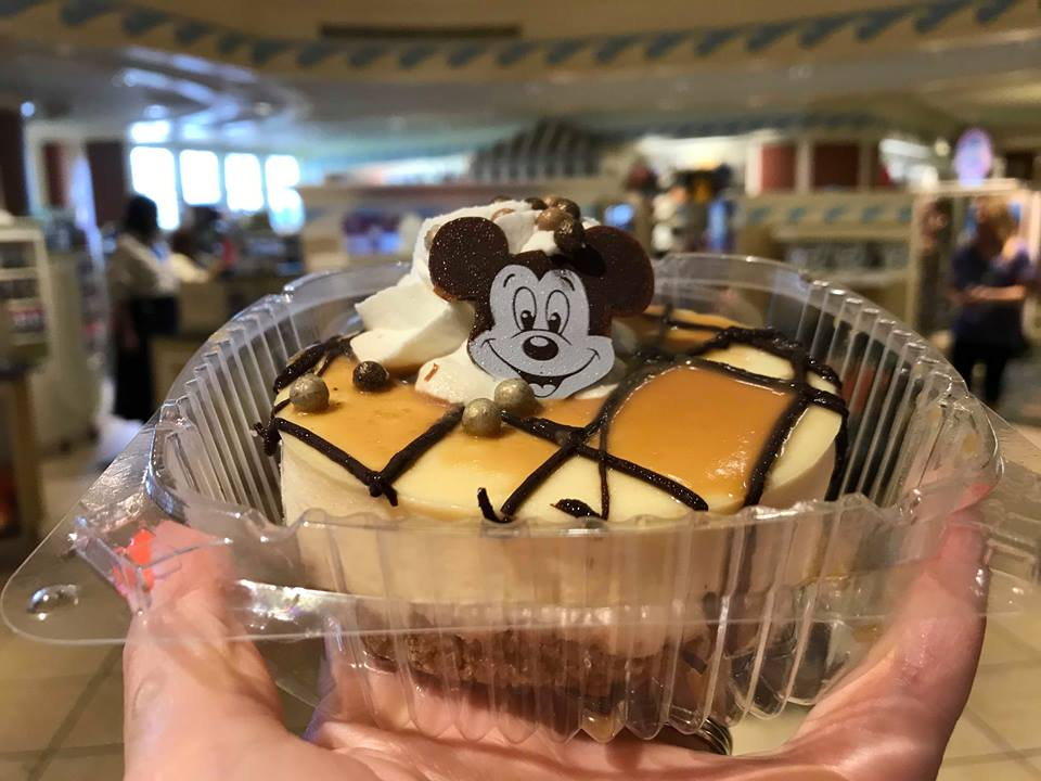 Check Out This Chocolate Caramel Cheesecake at Walt Disney World