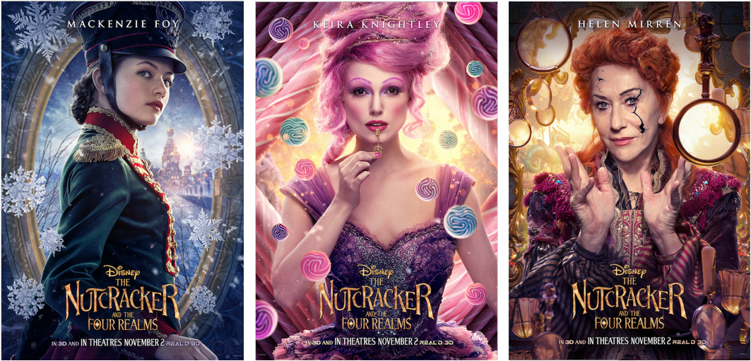 """First Look at Character Posters for """"The Nutcracker and the Four Realms"""""""