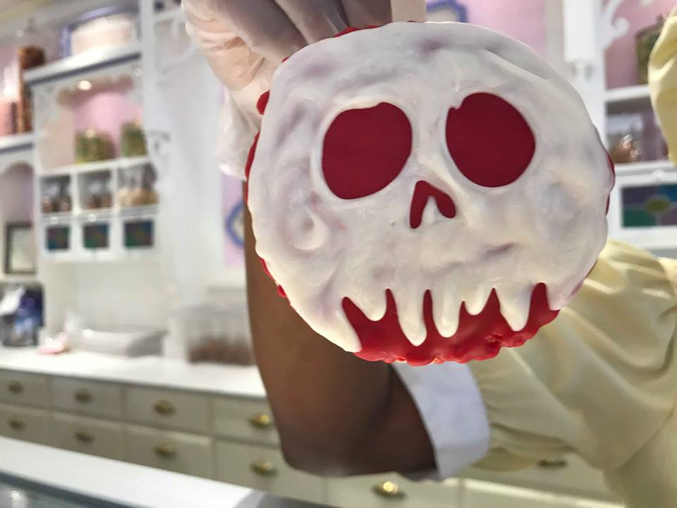 Poison Apple Rice Krispie Treat Available at the Magic Kingdom