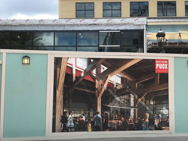 Construction Update for Wolfgang Puck Bar & Grill Coming to Disney Springs 1