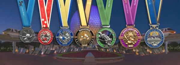 First Look at Medals for 2019 runDisney Walt Disney World Marathon Weekend 1