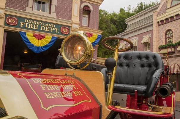 Iconic Fire Engine in Disneyland Celebrates Its 60th Anniversary 2