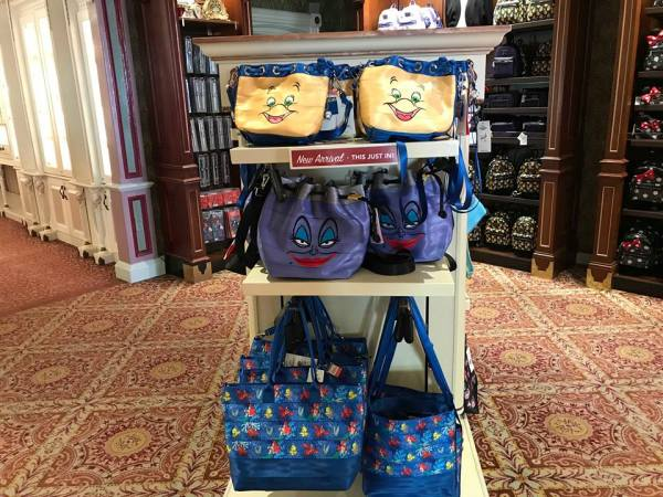 New Little Mermaid Harveys Bags At Walt Disney World 1
