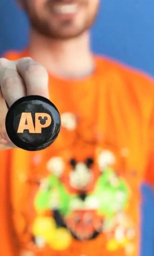 Disneyland Annual Passholder Button