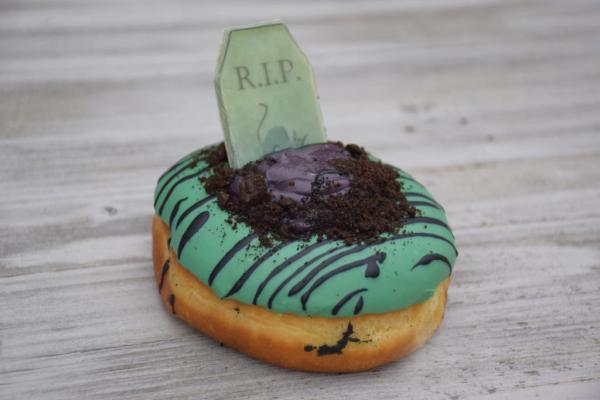 Try the Grave Donut from Disneyland for Halloween Time