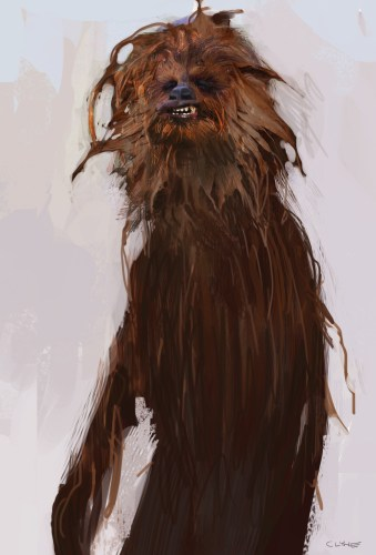 """SOLO: A Star Wars Story"" Bonus and Concept Art: Han & Chewie 10"